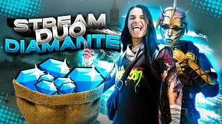 Streaming FREE FIRE | Duo DIAMANTES