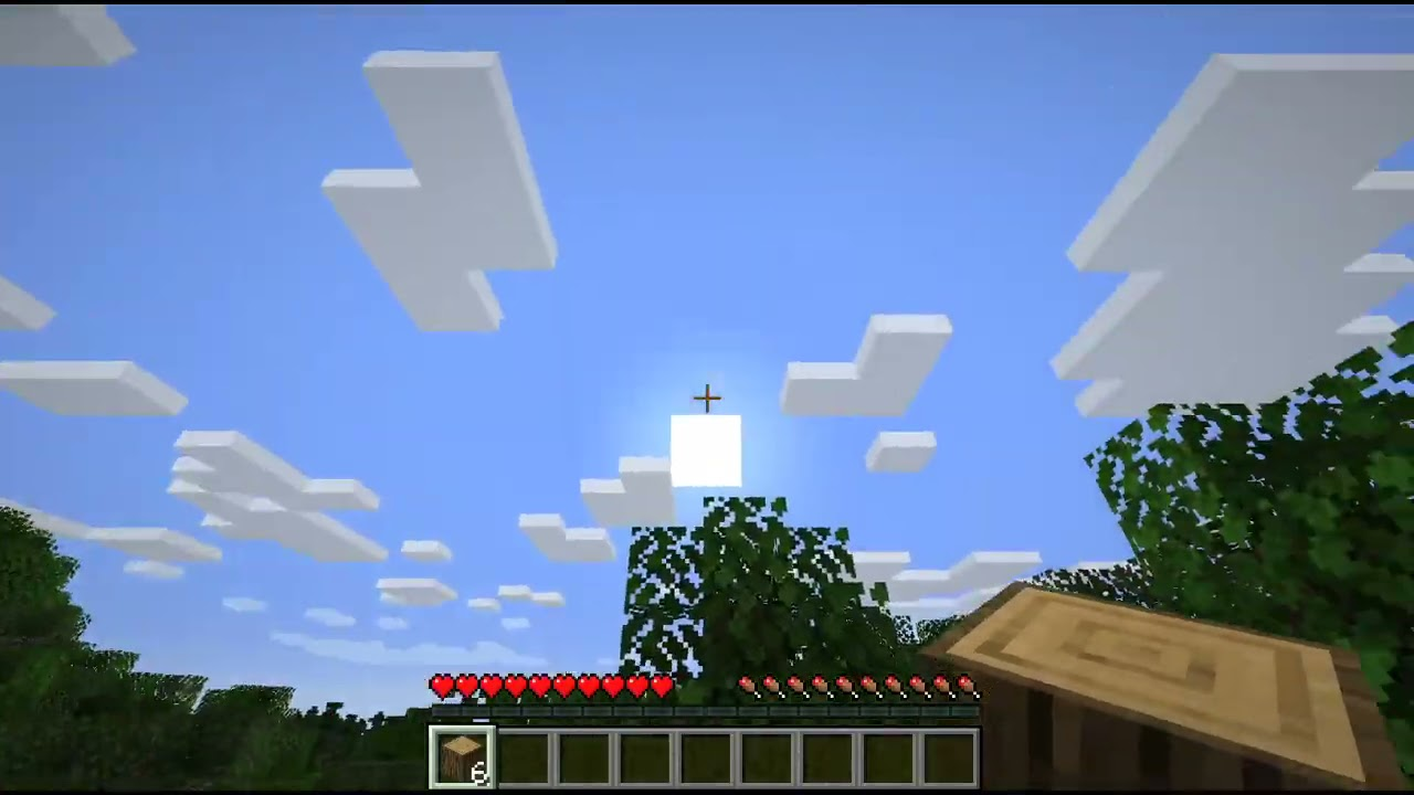 Playing Minecraft for the first time in a decade