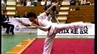 広田一成 1991年全日本武術太極拳競技大会 男子三種総合優勝【長拳】