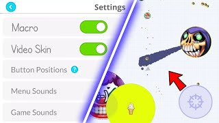 SOlO DESTRUCTION! + CUSTOM SKIN TUTORIAL + MACRO BUTTON *NO ROOT*ANDROID & IOS(AGAR.IO MOBILE)