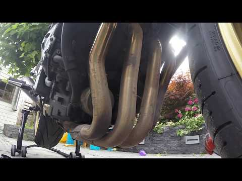 Exhaust cleaning
