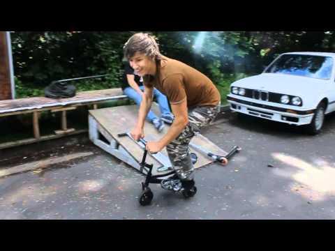Smallest Bike tailwhip
