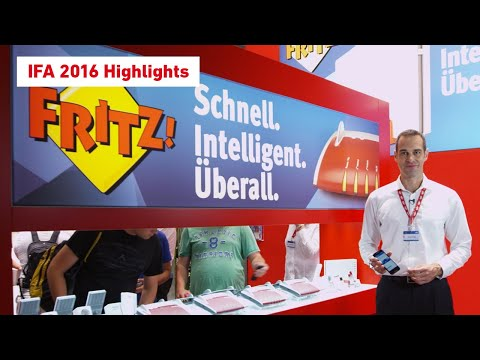 The FRITZ! highlights from the IFA stand