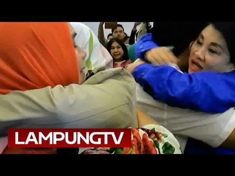 Menangi Pilgub Lampung, Tangis Nunik Pun Meledak
