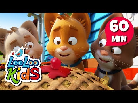 Cantec nou:  Three Little Kittens  Educational Songs for Children | LooLoo Kids