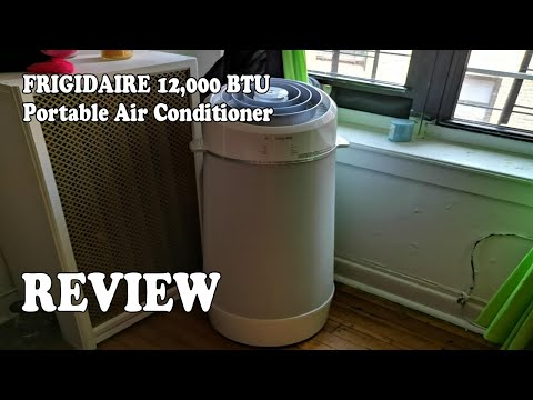 REVIEW FRIGIDAIRE 12,000 BTU Cool Connect Smart Portable Air Conditioner 2019