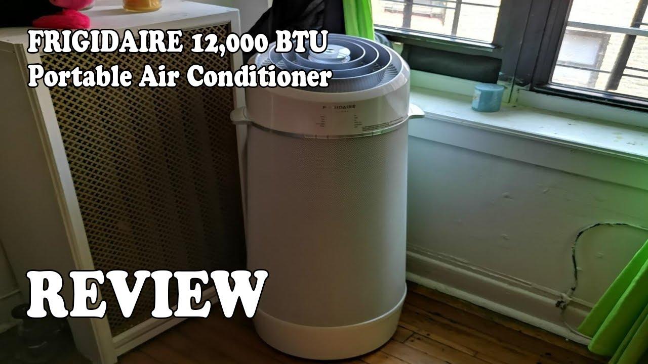 REVIEW FRIGIDAIRE 12,000 BTU Cool Connect Smart Portable Air ...