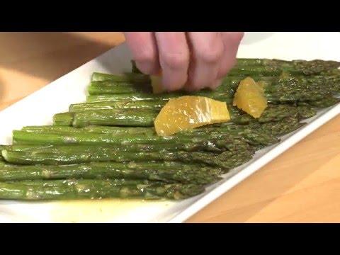 asparagus  mandarin  orange salad