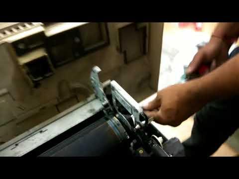 Xerox machine drum clean