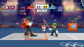Mario and Sonic at the London 2012 Olympic Games: Part 12 - Fencing