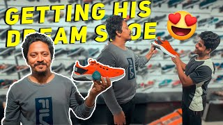 Surprising Blade runner athelete with his Dream running Shoe😍!!