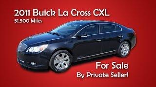 2011 Buick LaCross CXL FOR SALE (Located in Apollo Beach)