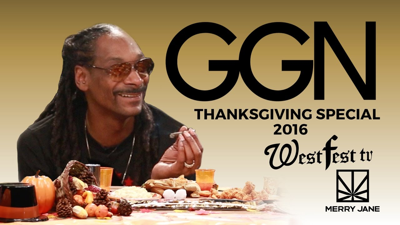 Snoops GGN Thanksgiving Special 2016 Featuring Daz Dillinger, Christina Milian, Ricky Harris, Slink Johnson, Alex Thomas, Too $hort, Red Grant, Luenell, Bishop Don Magic Juan, and the Mariachi Lindas Mexicanas.