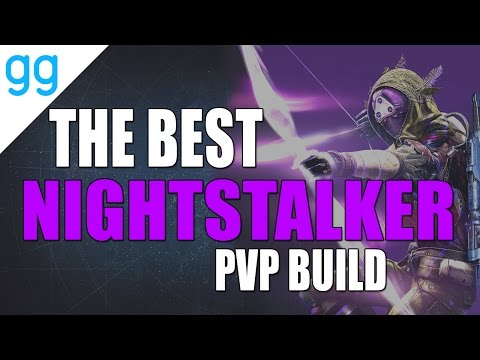 Destiny - BEST NIGHTSTALKER PVP BUILD EVER!!! (Rise of Iron Setup)