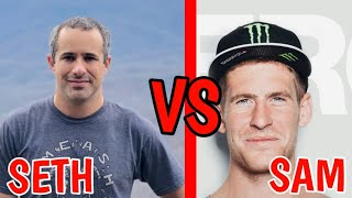 SAM PILGRIM VS SETH [BERM PEAK] // BEST MTB RIDERS // 2020