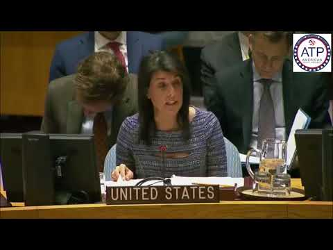 Nikki Haley Destroys Mahmoud Abbas