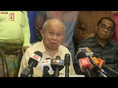 #KualaLumpur Sidang Media Ahli Parlimen Gua Musang, Tengku Razaleigh Hamzah.