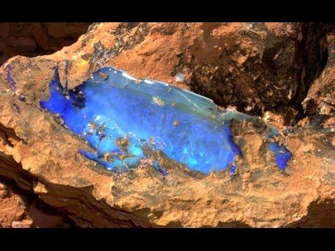 The Tarant Opal Open Cut Opal Mine 2014 YouTube