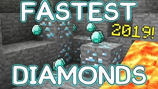 Fastest & Easiest Minecraft Method to find Diamonds!