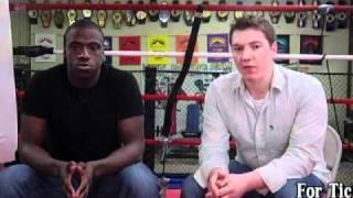 Adam Crist Interviews Brima Kamara (IBF Ring Wars)