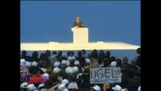 Abdelaziz Bouteflika Meeting de Fin de Campagne à la Coupole Mohamed Boudiaf