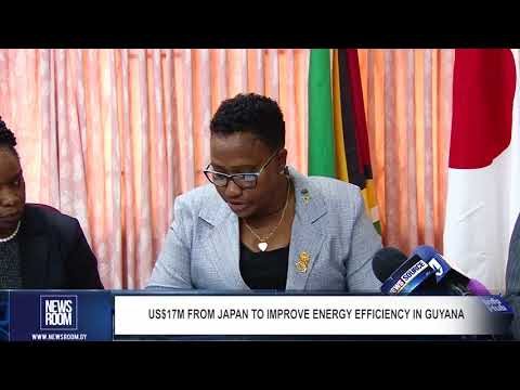 US$17M FROM JAPAN TO IMPROVE ENERGY EFFICIENCY IN GUYANA