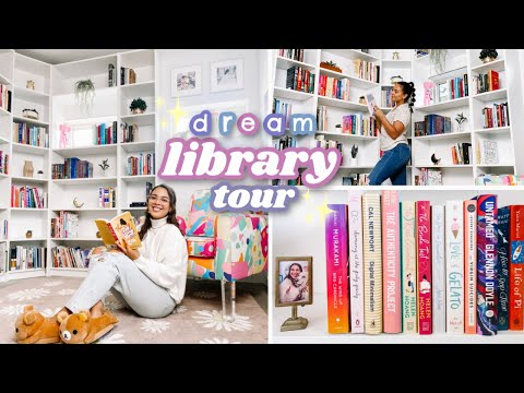 📚 I created a LIBRARY in my home! *here's why you should too*