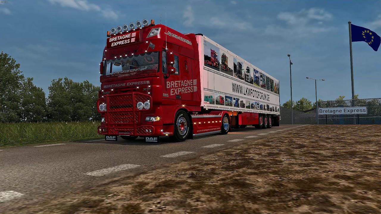 ETS2 v1.35 | DAF 105 Bretagne Express