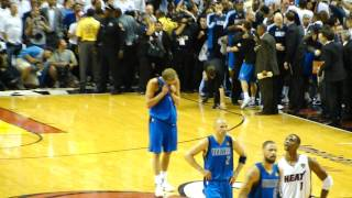 Dallas Mavericks - Dirk Nowitzki - Last Layup - Game 6 2011 NBA Finals