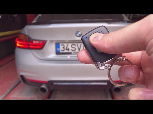 BMW F32 4.18 KUMANDALI VAREX EGZOZ SESİ