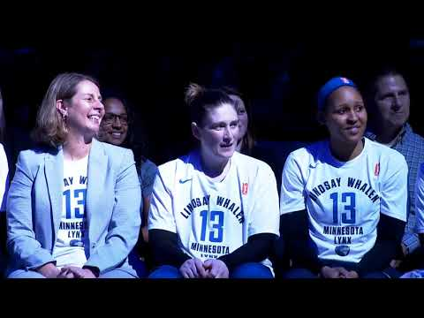 Minnesota Lynx: Lindsay Whalen Retirement Celebration