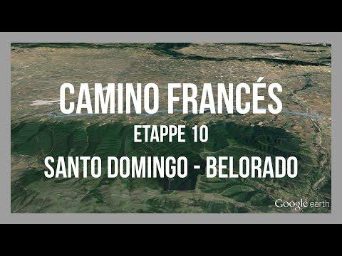 Etappe 10 -  Santo Domingo – Belorado | Camino Francés | Jakobsweg Spanien | GPS-Track