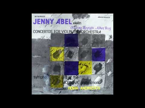 Jenny Abel ‎– Concertos For Violin And Orchestra