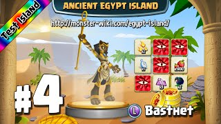 Ancient Egypt Island (Test) #4 - Basthet - Monster Legends