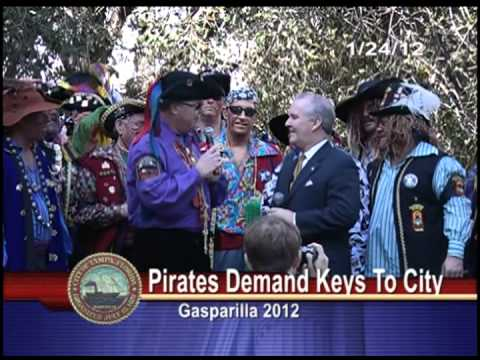 Pirates Demand the Keys to Tampa