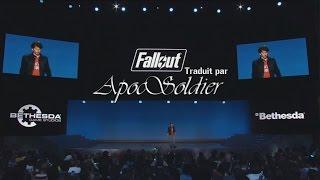 E3 2015 Fallout 4 en Français
