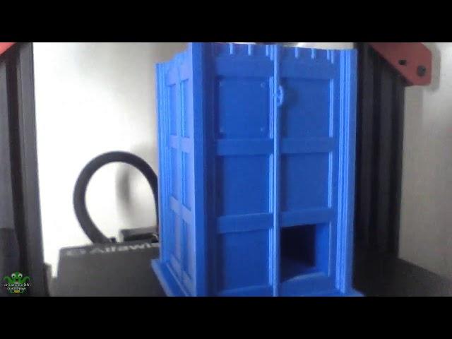 TARDIS DICE TOWER Timelapse