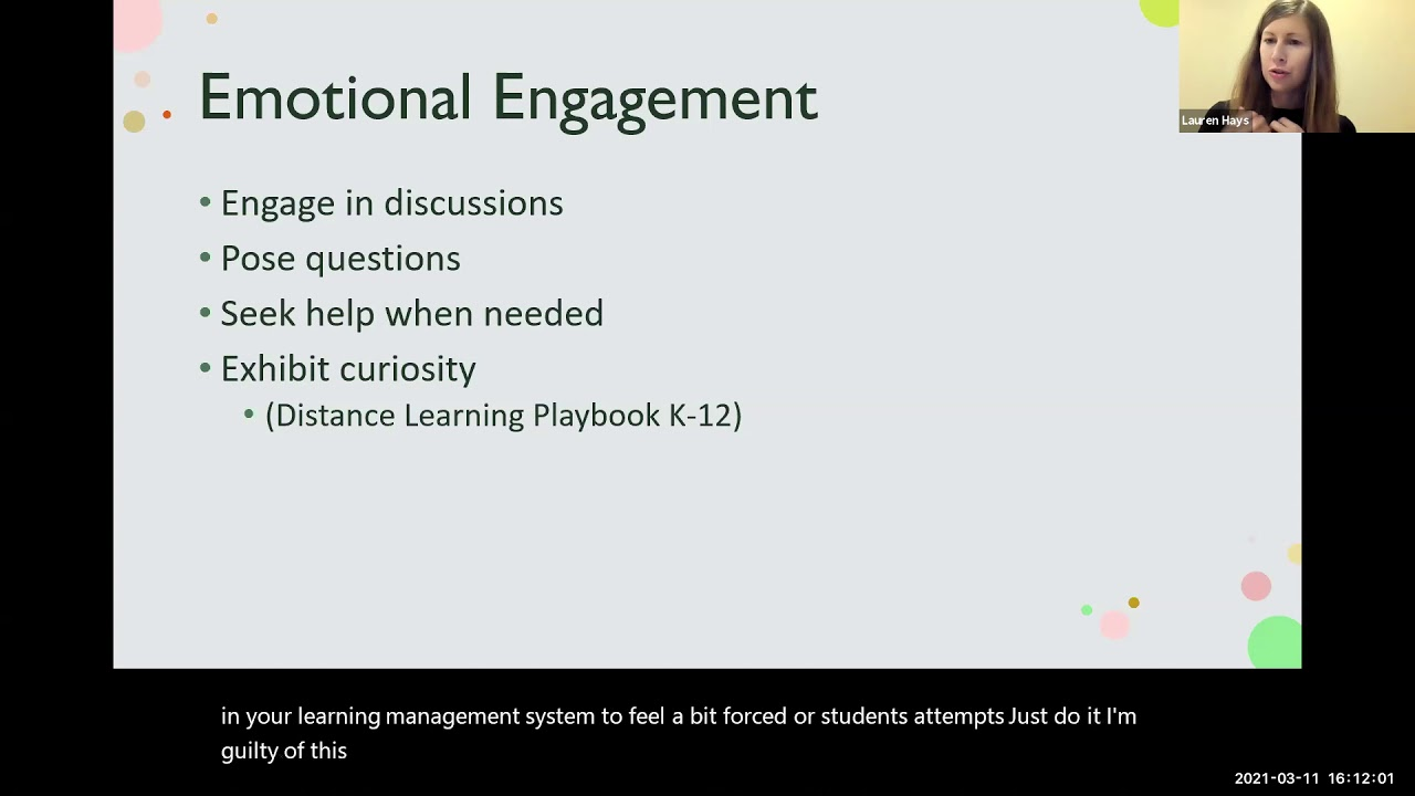 Creating Engaging Activities in the Virtual Classroom.