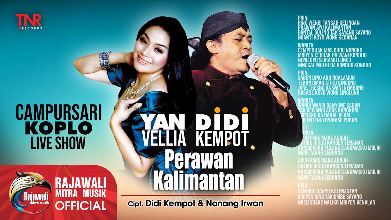 Didi Kempot feat. Yan Vellia - Perawan Kalimantan - Official Music Video
