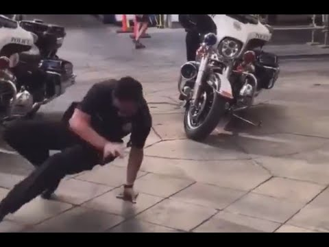 Dubz Blog - ICYMI: DPD officer vs 3rd Grader. The Breakdance Off we all needed