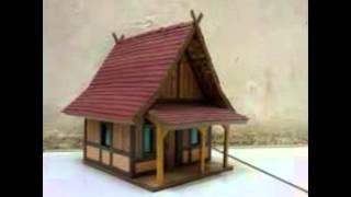 108+ Gambar Rumah Adat Maluku Dari Stik Gratis