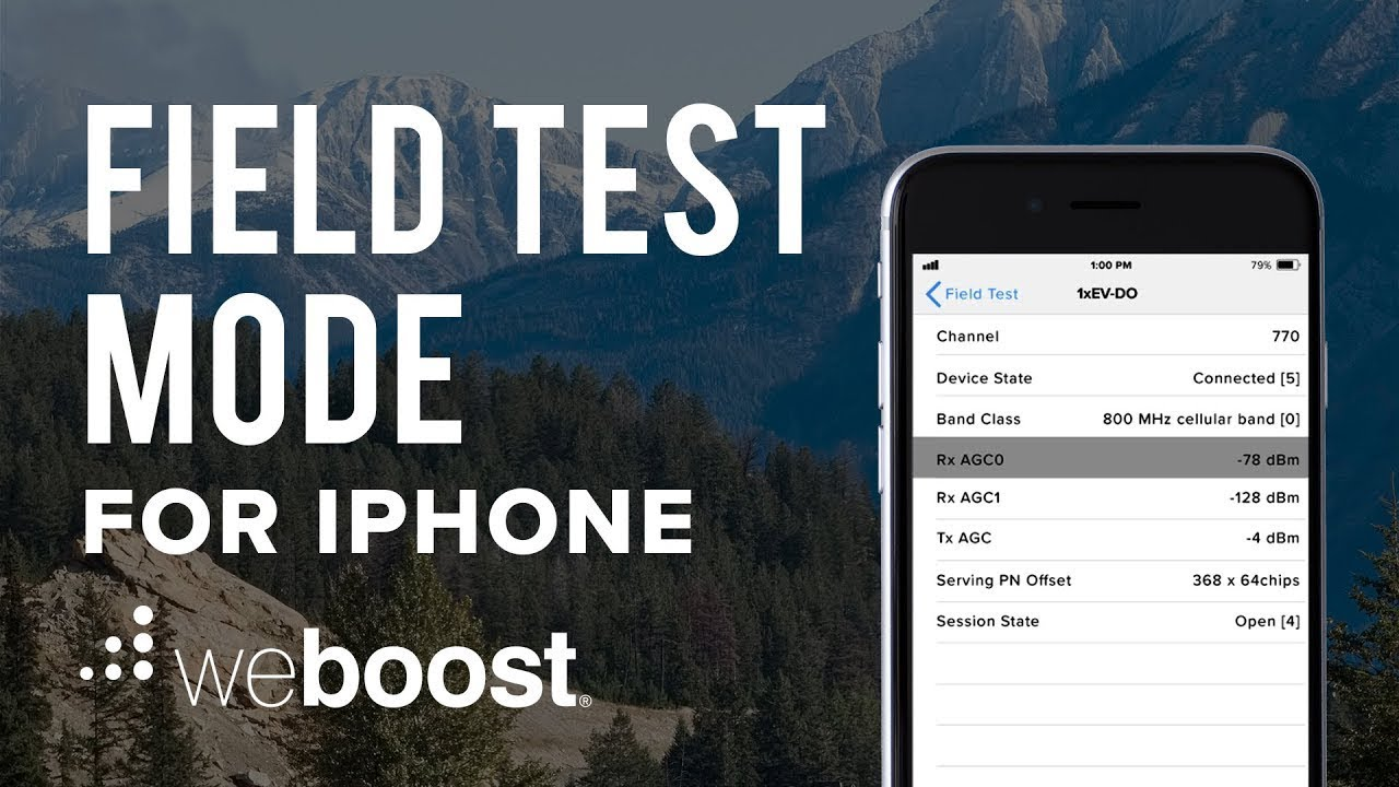 iphone field test field test mode for iphone ios 11 update weboost 11836