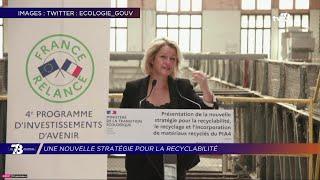 Yvelines | La ministre Barbara Pompili annonce la nouvelle stratégie pour la recyclabilité