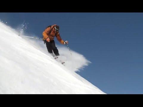 Тесты горных лыж Line Supernatural 115 (Сезон 2016-17) - YouTube