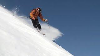 Урок 28 - Как кататься на горных лыжах по разным склонам