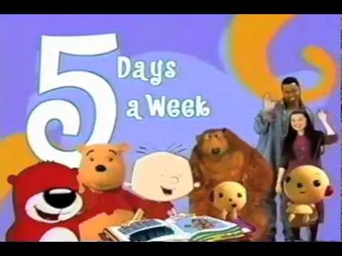 Playhouse Disney Promo 5 Days A Week 2003 Video