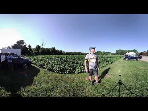 NEOOC Drone Mission for Corn Maze 2018