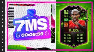 FIFA 21 7 Minute Squad Builder on Rule breaker Talisca!! EVEN MORE RULES!!!