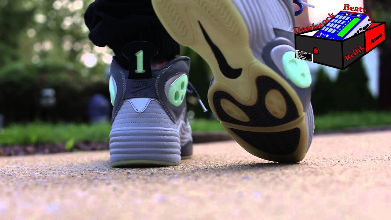 the best attitude 16ccb 8a8f0 Nike Air Flight One - Galaxy Day And Night Glow in The Dark On Feet (eXimus  Beat)