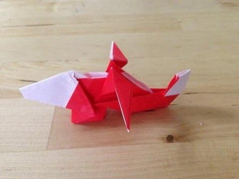 ハート 折り紙 折り紙 ヘリコプター 折り方 : youtube.com
